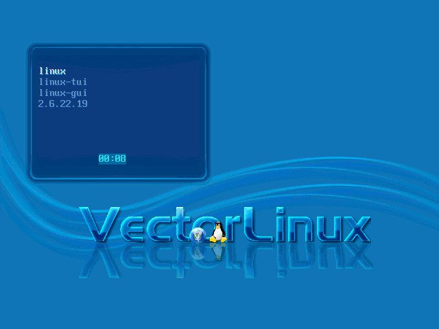 Vector Linux - Boot Manager