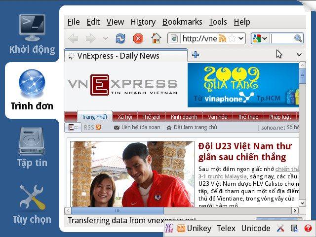 xPUD 0.9.2 - Język wietnamski