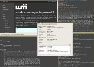 wmii - window manager improved 2