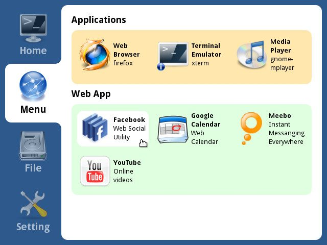 xPUD 0.9.2 - Aplikacje webowe