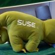 Open Source Summit 2015 - maskotka SUSE