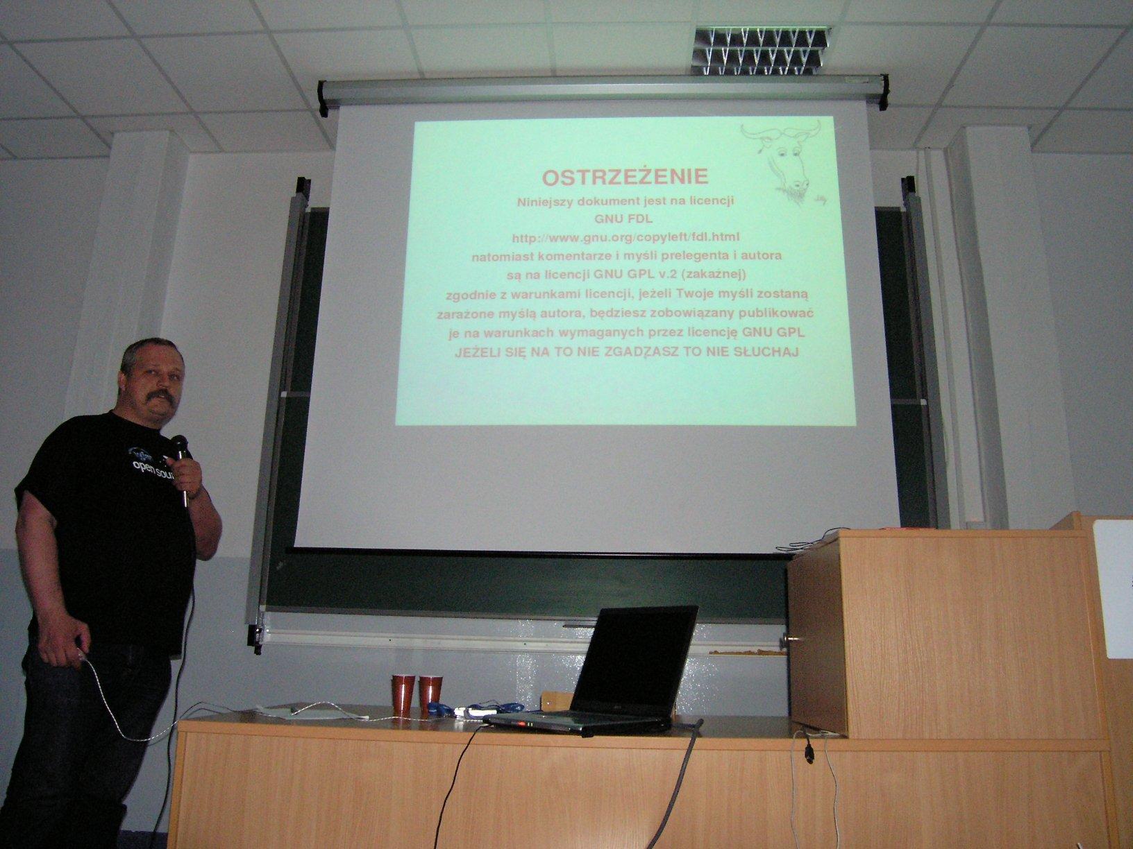 Wieczór z Open Source 2006