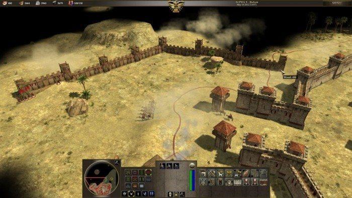 0 A.D. Alpha 10 Jhelum - budowanie muru rzymskiego