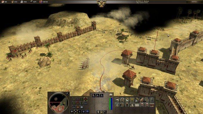 0 A.D. Alpha 10 Jhelum - miejsce budowy muru rzymskiego
