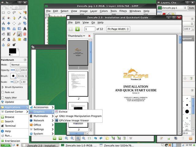Zencafe - GIMP