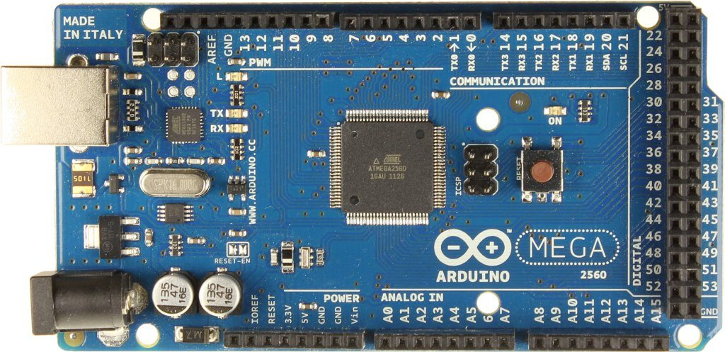 Arduino Mega 2560 R3 - przód