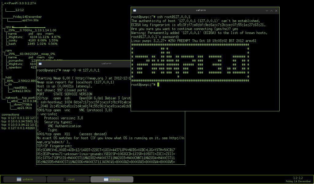PwnPi - interfejs graficzny