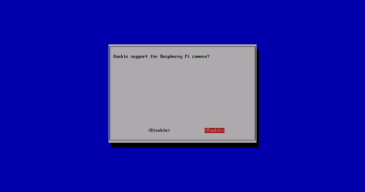 Konfiguracja i obsługa kamery dedykowanej dla Raspberry Pi - restart Raspbiana