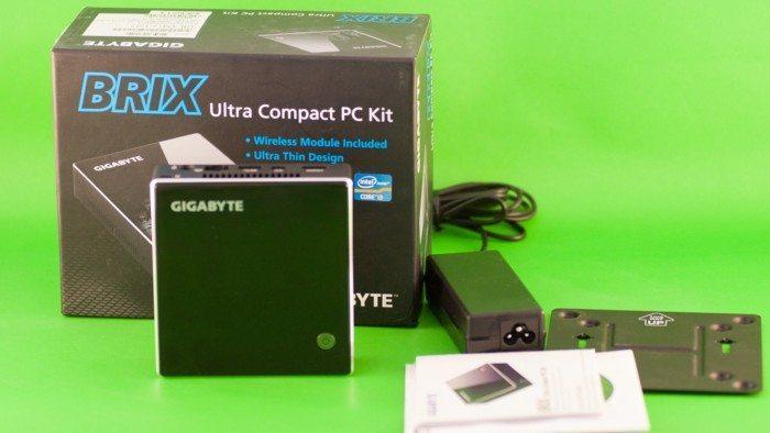 Gigabyte Brix GB-XM12-3227 - slider