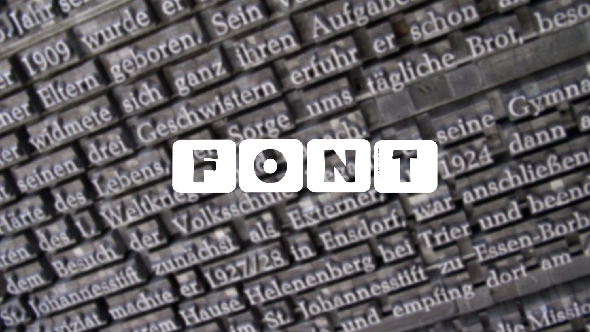 Hermit - czcionka z polskim znakami