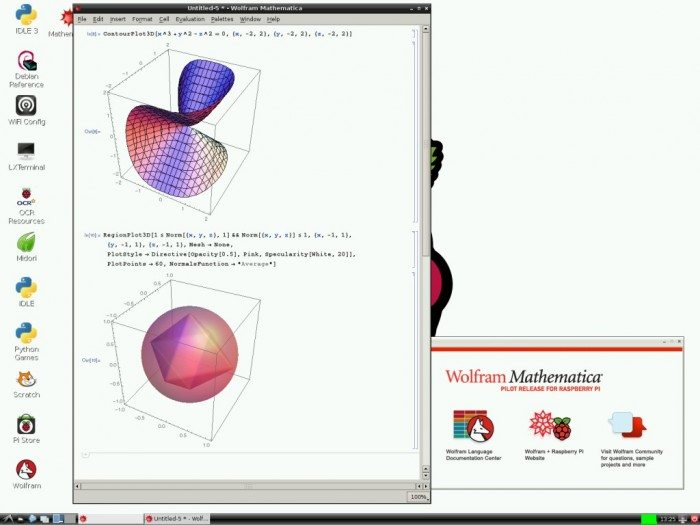 Wolfram Mathematica na Raspberry Pi