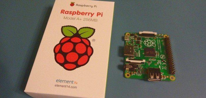 Raspberry Pi Model A+ - na warsztacie