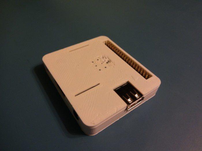 Raspberry Pi Model A+ - w obudowie