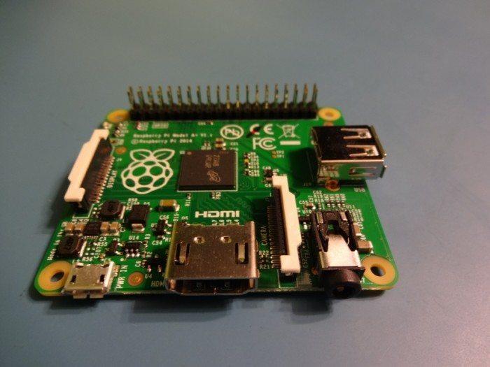 Raspberry Pi Model A+ - złącza