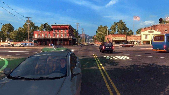 American Truck Simulator - Miasteczko