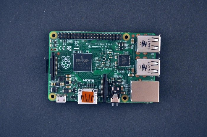 Raspberry Pi 2 Model B - góra