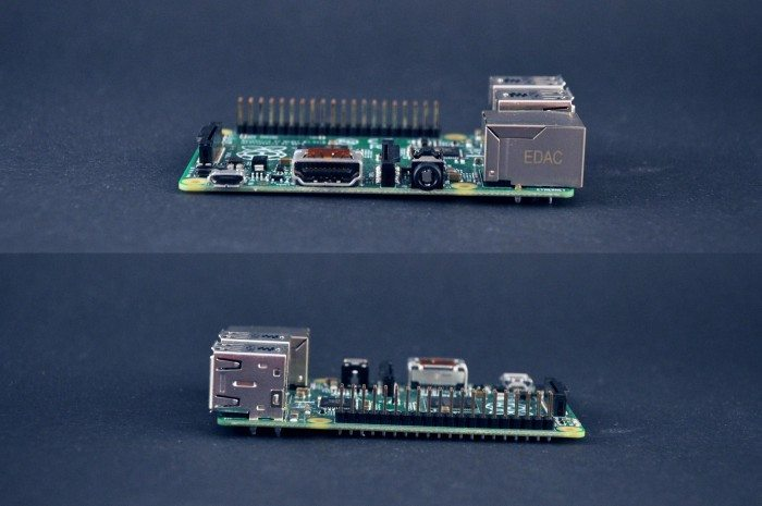 Raspberry Pi Model B+ - boki