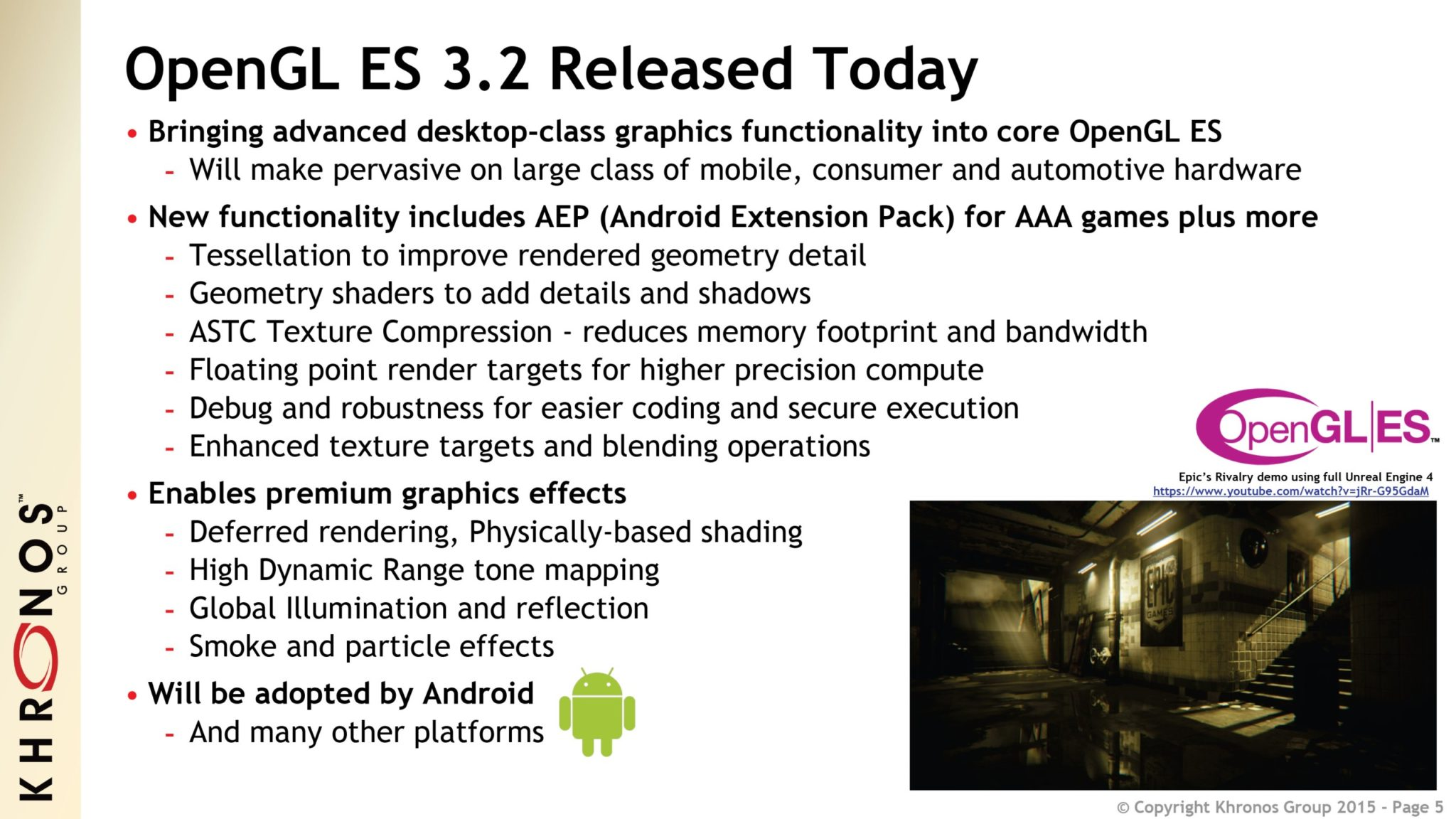 OpenGL Extensions 2015