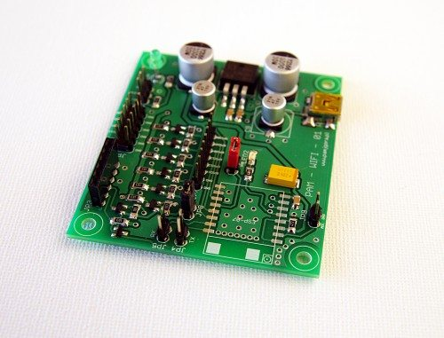 Płytka startowa funpam pod moduł ESP8266-12