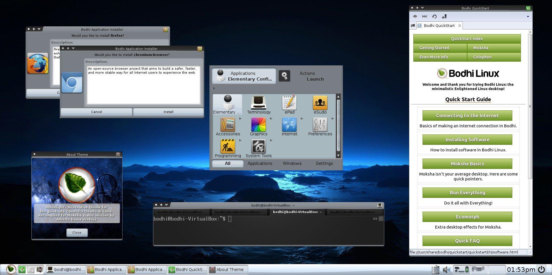 Bodhi Linux 3.1.0 AppPack