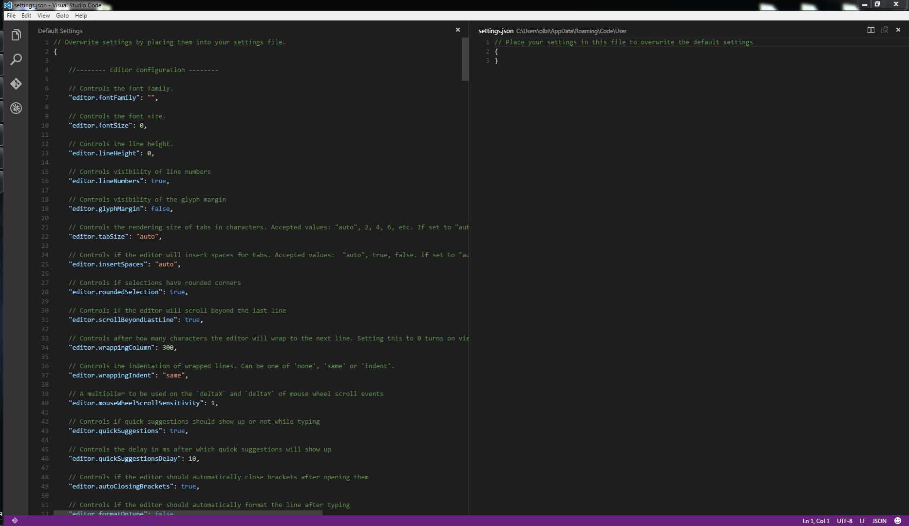 Visual Studio Code 0.10.1
