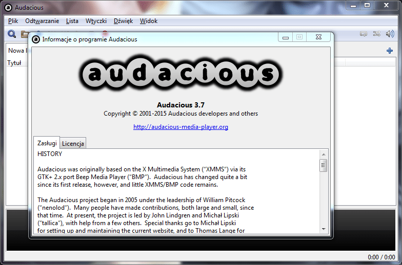 Audacious 3.7