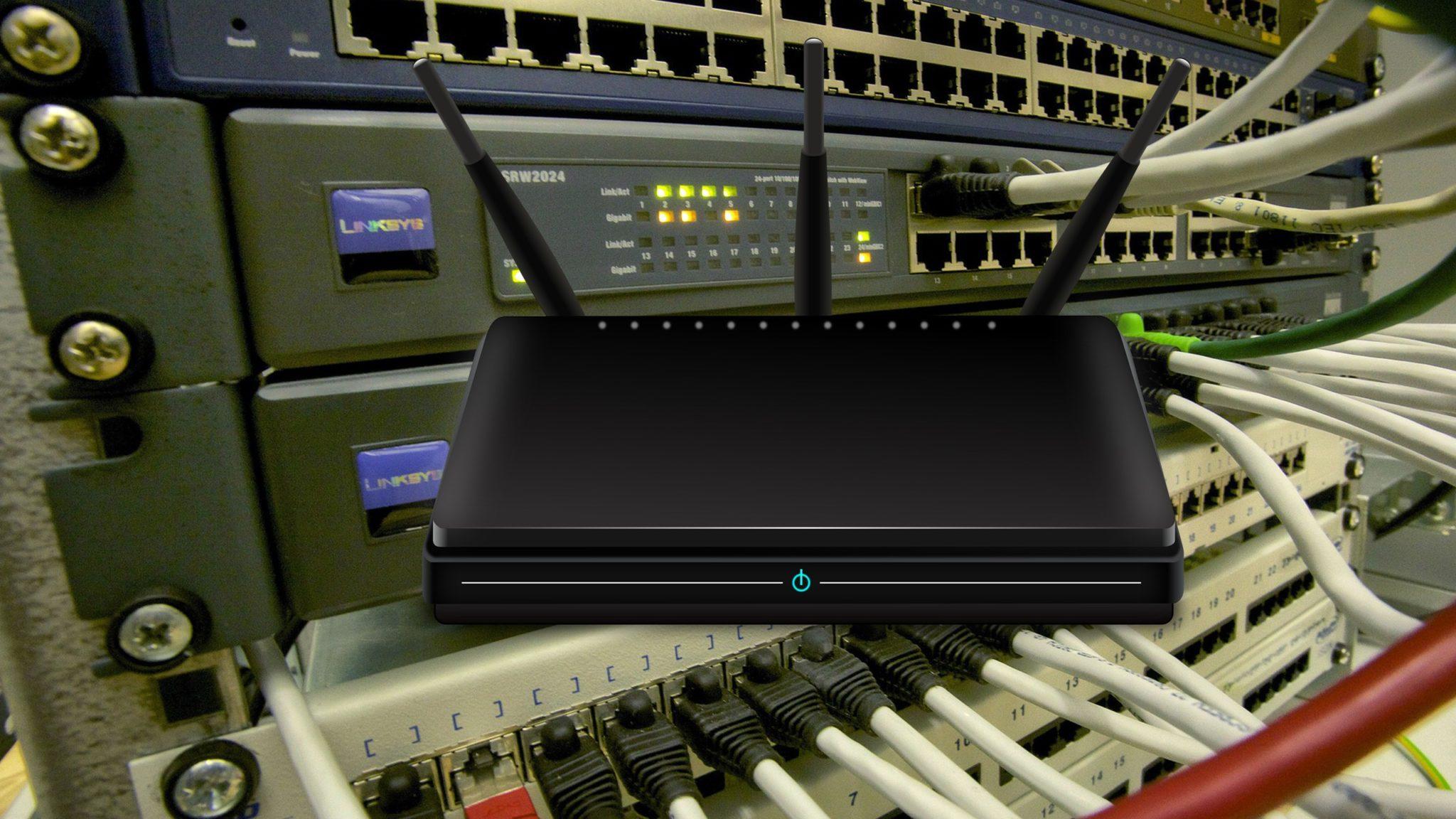 Router, sprzęt, sieci
