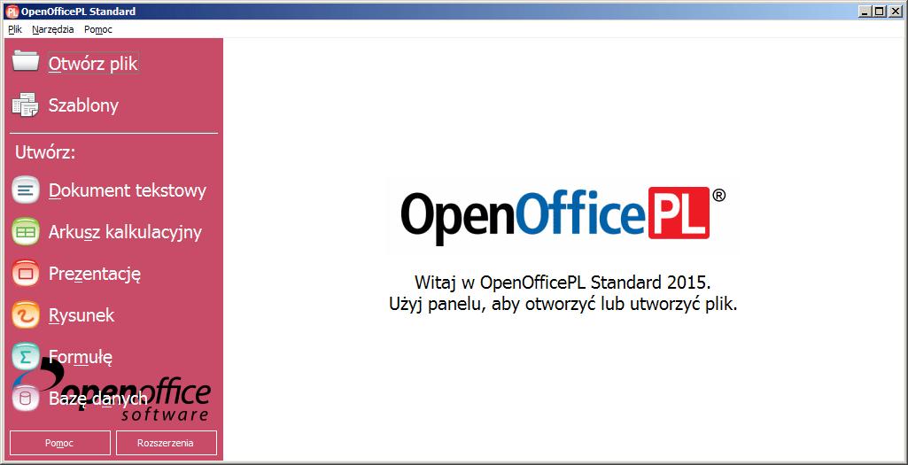 OpenOfficePL 2015 Startowy