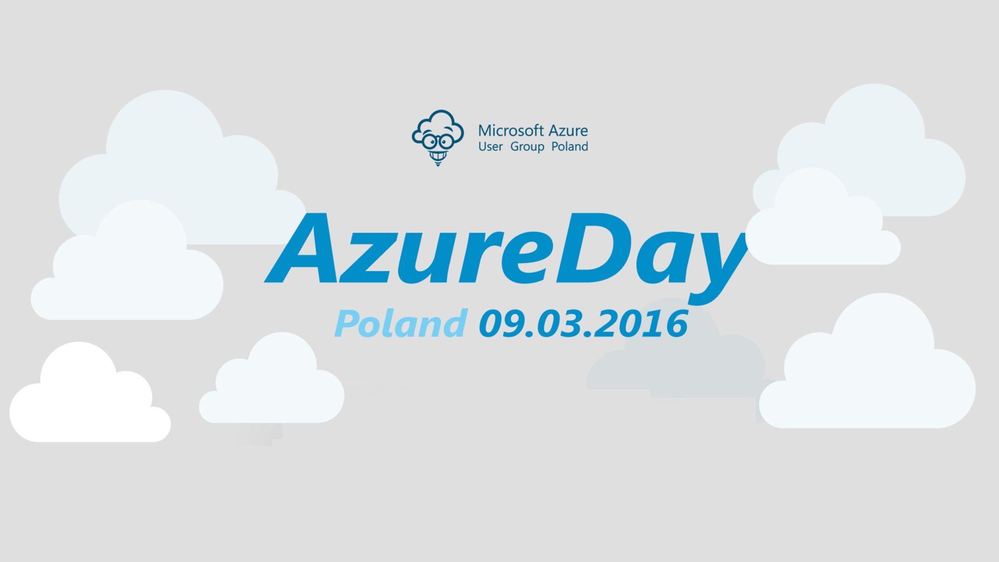 AzureDay Poland 2016