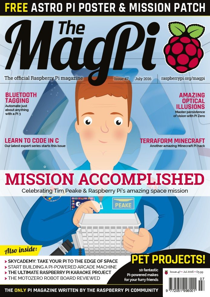 The MagPi 47 - okladka