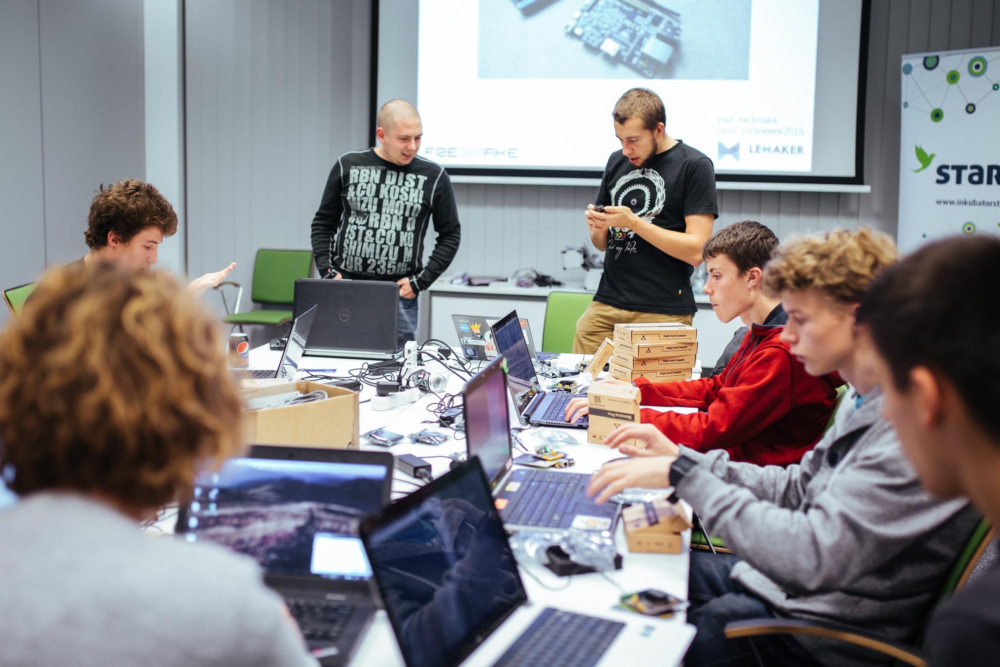 CodeWeek In Starter