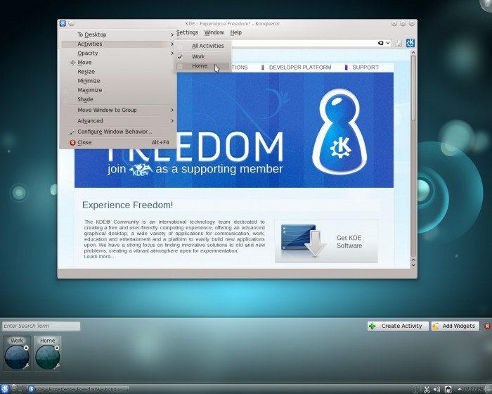 KDE SC 4.6.1