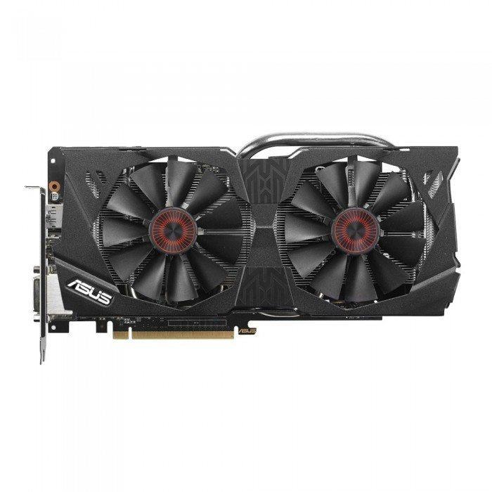 ASUS Strix GTX 970 - chłodzenie