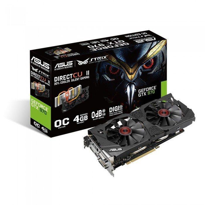 ASUS Strix GTX 970 - wygląd
