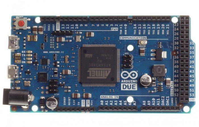 Arduino Due - przód