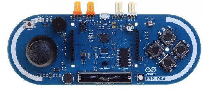 Arduino Esplora - przód