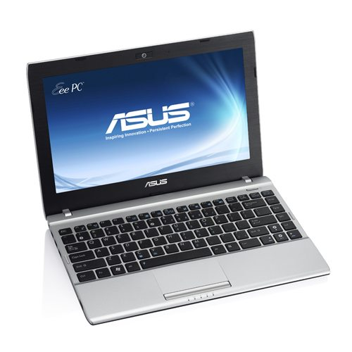 Asus Eee PC 1225C - wersja srebrna