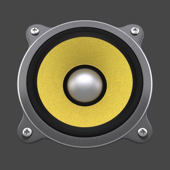 Blender, jako narzędzie do tworzenia ikon dla GNOME - Music App - gotowa ikona