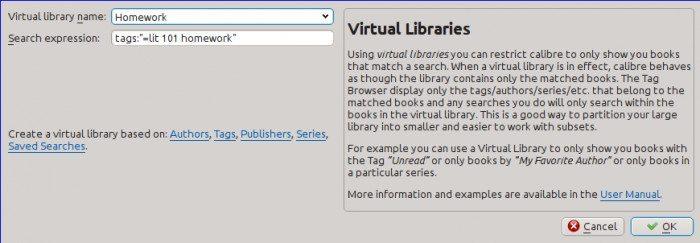 Calibre 1.0 - Wirtualne Biblioteki tworzenie