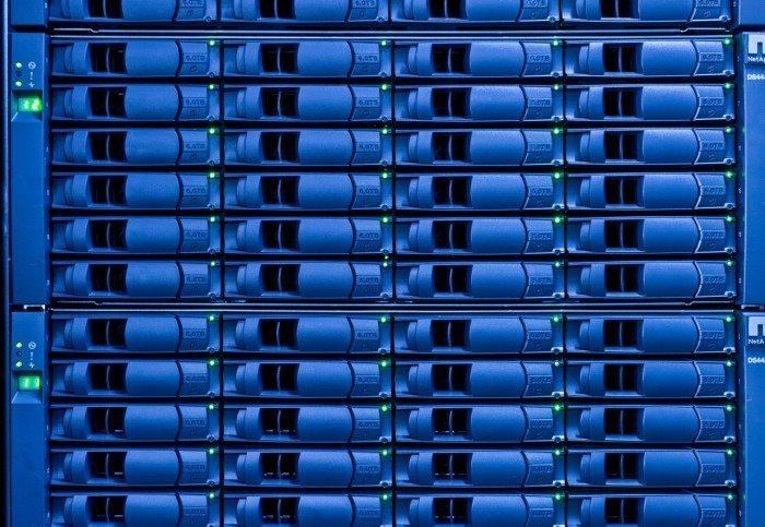Centrum Informatyczne Świerk - macierz z 6 TB dysków