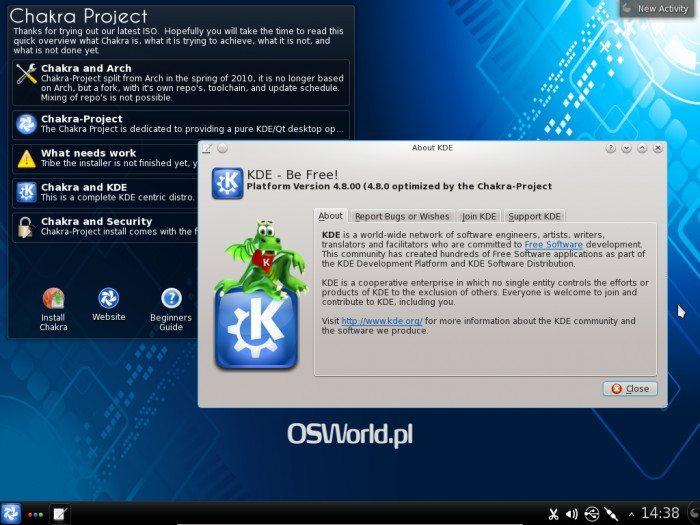 Chakra GNULinux 2012.02