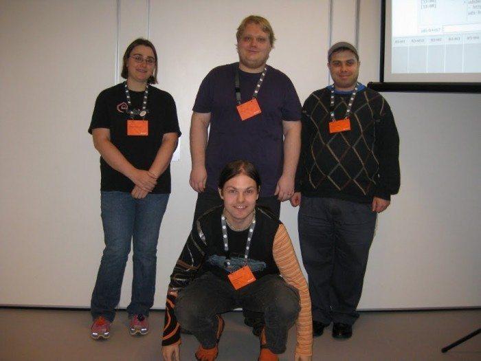 Członkowie zespołu Xubuntu na Ubuntu Developer Summit 2012