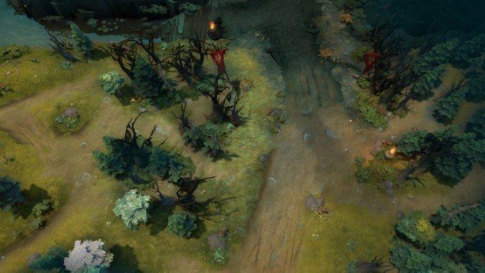 DOTA 2 update Rekindling Soul - dolny obszar Świetlistych