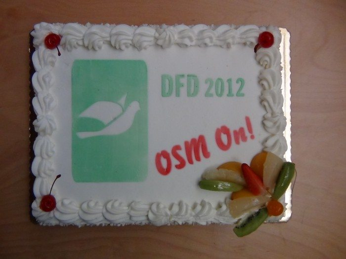 Document Freedom Day 2012 - tort OSM on