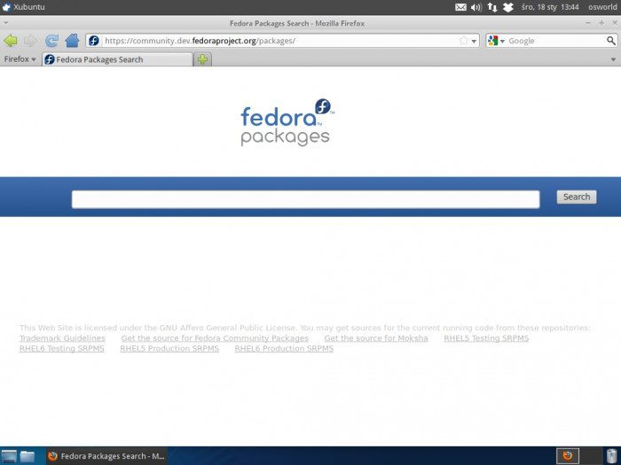 Fedora Packages Search