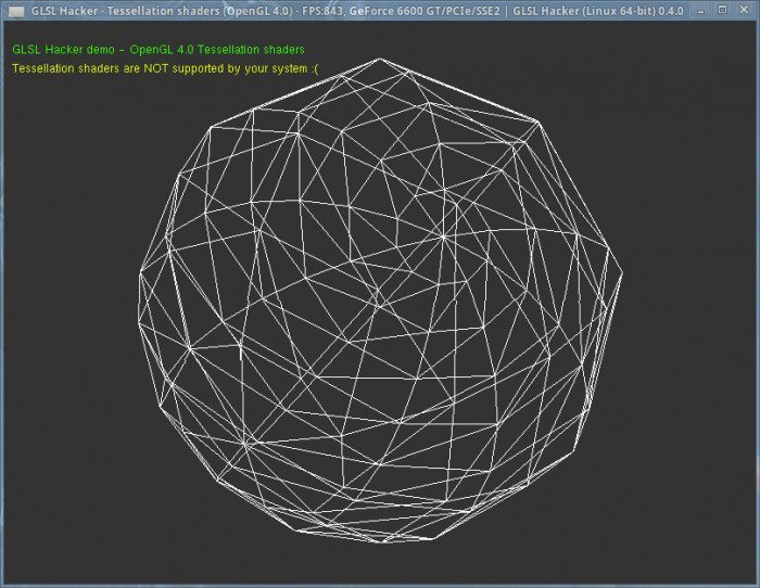 GLSL Hacker 0.4.0 - Tessellation shaders