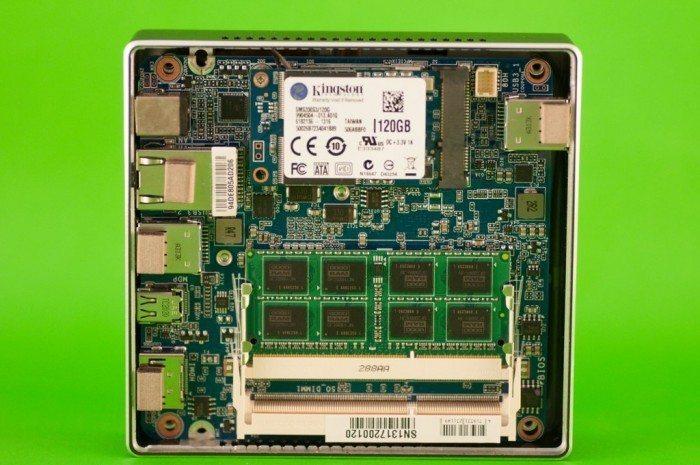 Gigabyte Brix - RAM, WiFi i SSD