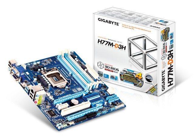 Gigabyte GA-H77M-D3H