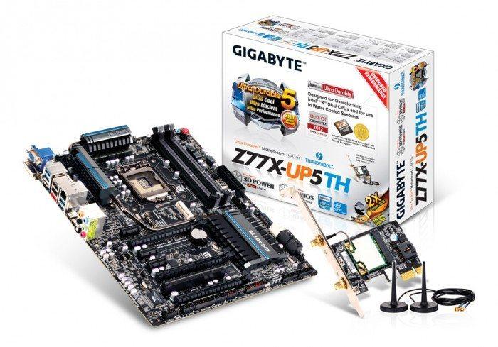 Gigabyte GA-Z77X-UP5 TH - płyta główna i WiFi