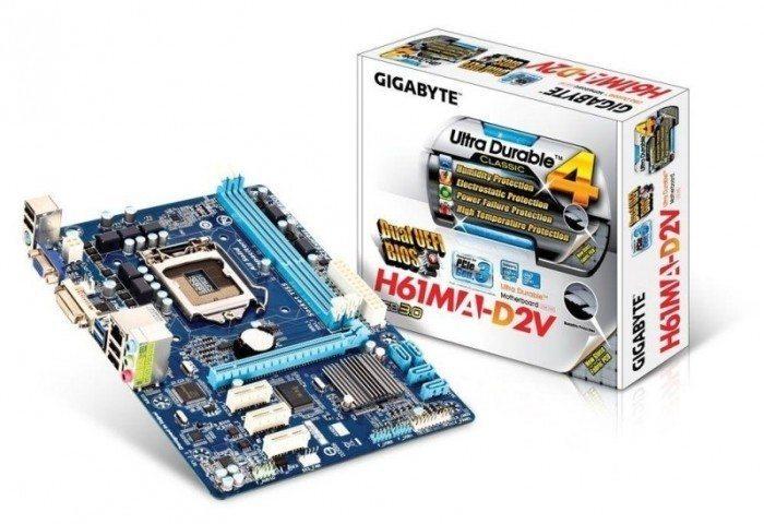 Gigabyte H61MA-D2V